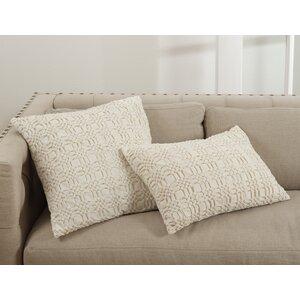 Allisin Smocked Cotton Lumbar Pillow