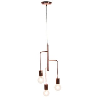 Wrought Studio Ashley 23 3-Light Sputnik Chandelier