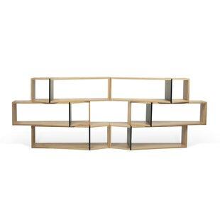 One Module Geometric Bookcase By Tema