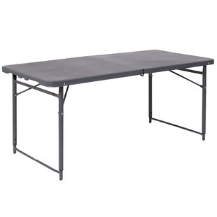 Savings 48.25'' Rectangular Folding Table By Flash Furniture