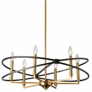 Mercer41 Carpen 6-Light Geometric Chandelier