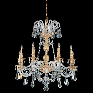 Isabelle 12-Light Chandelier by Schonbek