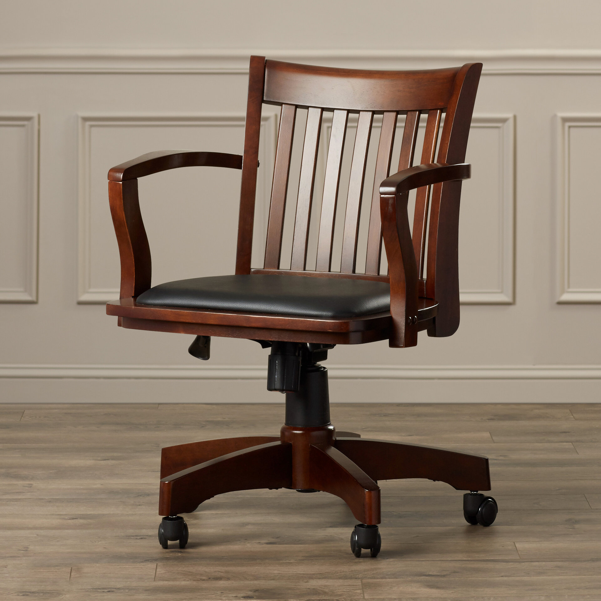 Genevieve Mid Back Deluxe Bankers Chair