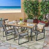 Avalos 7 Piece Dining Set