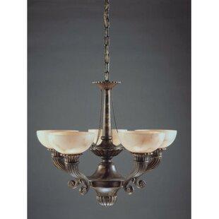 Zanin Lighting Inc. Cordoba 5-Light Shaded Chandelier