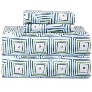Reviews Celeste Home Ultra Soft Flannel Matrix Cotton Sheet Set ByCeleste Home