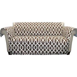Alcott Hill Caledonia Box Cushion Sofa Slipcover