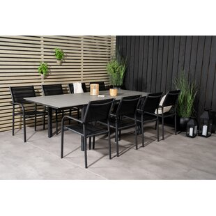 Akimos 8 Seater Dining Set By Sol 72 Outdoor