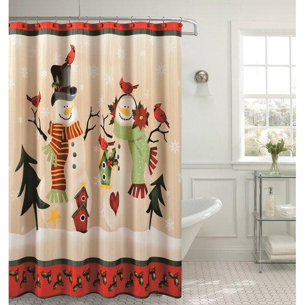 Vintage Bird Shower Curtain