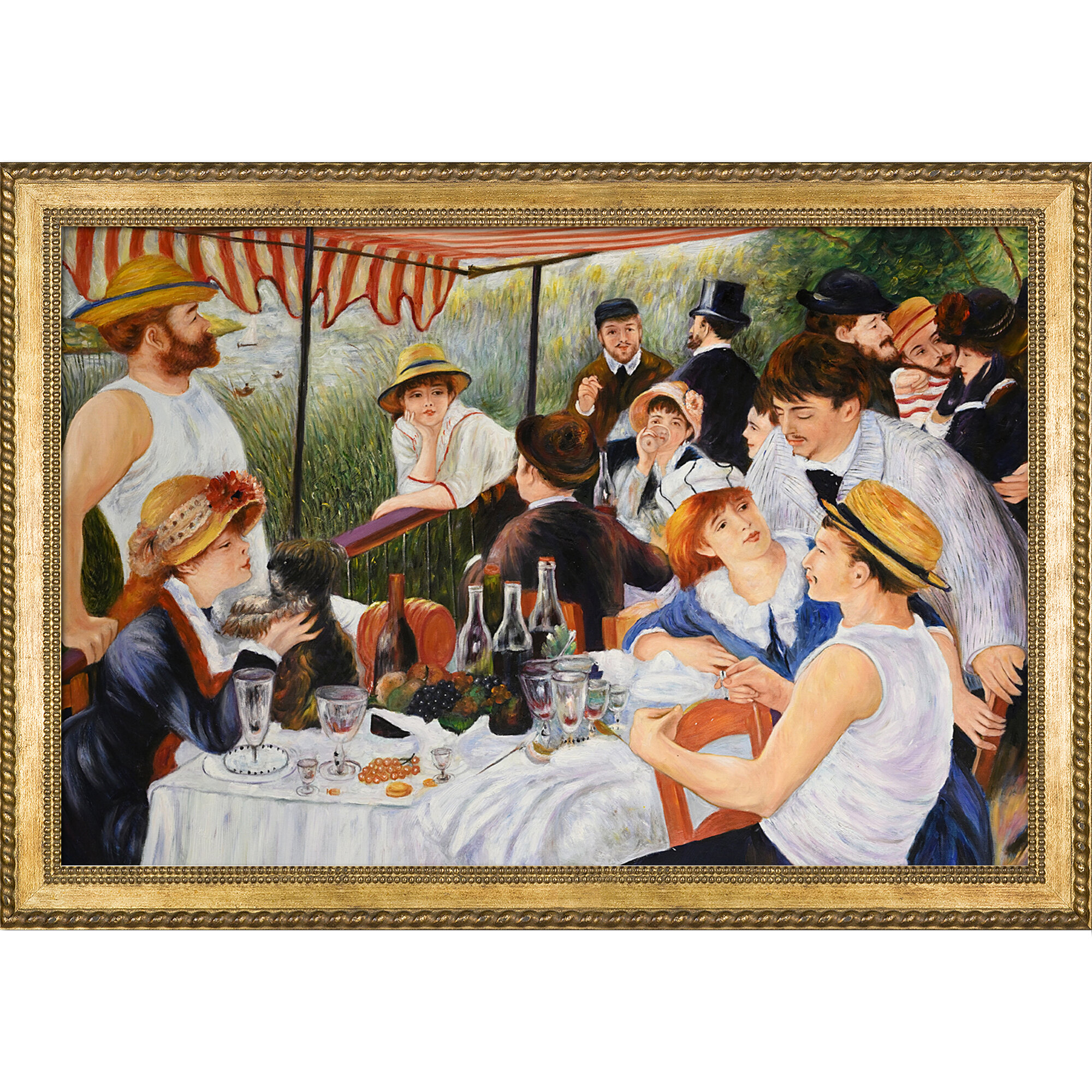 Fade Resistant HD Art Print /& Canvas Luncheon of the Boating Party Renoir 1881