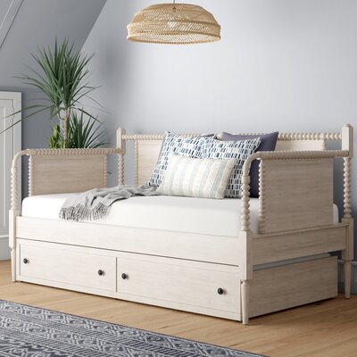 Three Posts Chingford Twin Daybed With Trundle Color