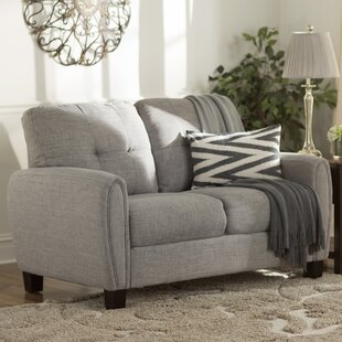 Purchase Templeville Upholstered Loveseat by Charlton Home Reviews (2019) & Buyer's Guide