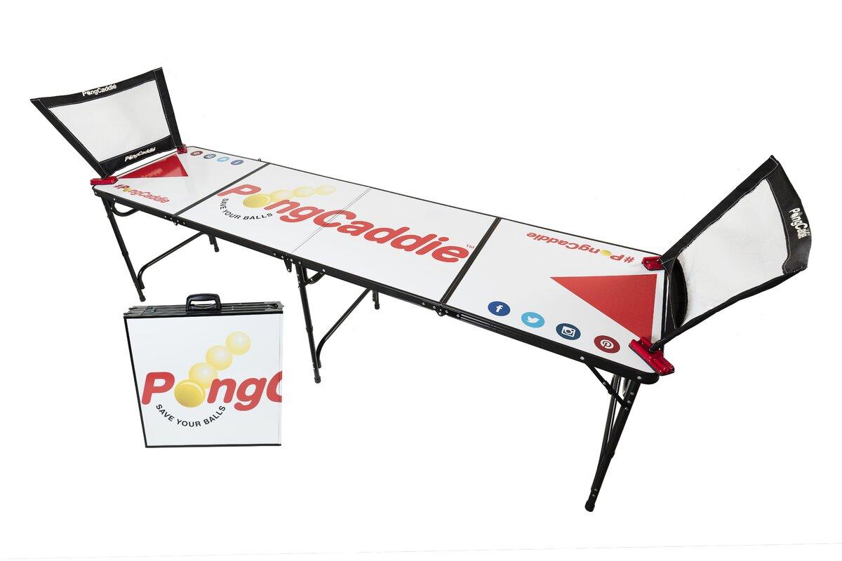 PongCaddieLLC Beer Pong Table Reviews Wayfair - Custom vinyl decals for beer pong tables