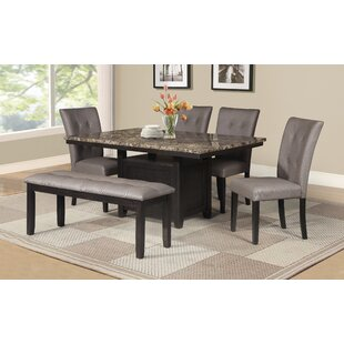 Thistletown 6 Piece Dining Set by Red Bar..