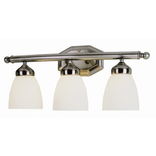 Best Reviews 3-Light Vanity Light By TransGlobe Lighting