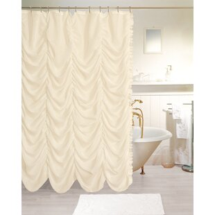 Read Reviews Adria New Theater Fabric Shower Curtain ByRosdorf Park