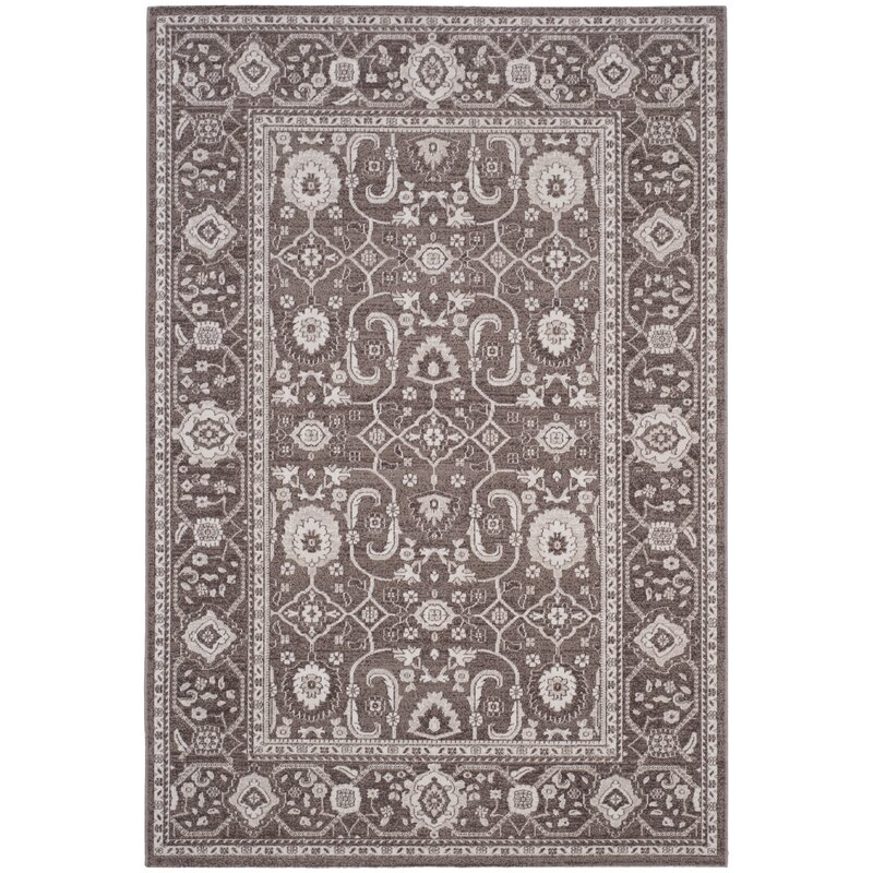 Alcott Hill Fleetwood Brown Area Rug, Size: Rectangle 67 x 9