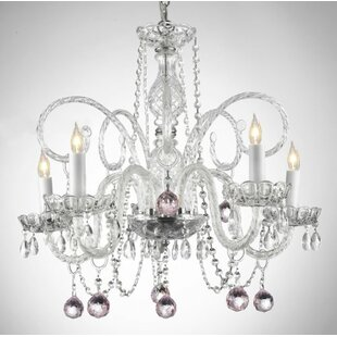 House of Hampton Juergens 5-Light Candle Style Chandelier
