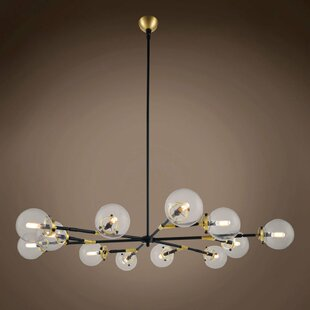 Brayden Studio Chairez 12-Light Chandelier