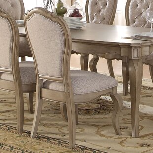 One Allium Way Donatella Upholstered Dining Chair (Set of 2)