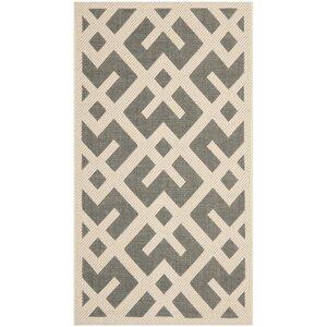 Quinlan Gray/Bone Indoor/Outdoor Area Rug