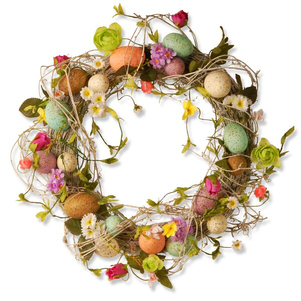 easter wreaths florals youll love wayfair - Easter Wreaths