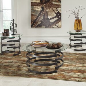 Bailey 3 Piece Coffee Table Set
