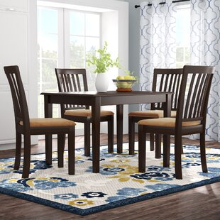 Oneill Modern 5 Piece Upholstered Dining Set by Andover Mills