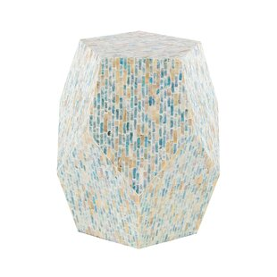 Inexpensive Lozko Natural Pentagon Faceted Table By Highland Dunes