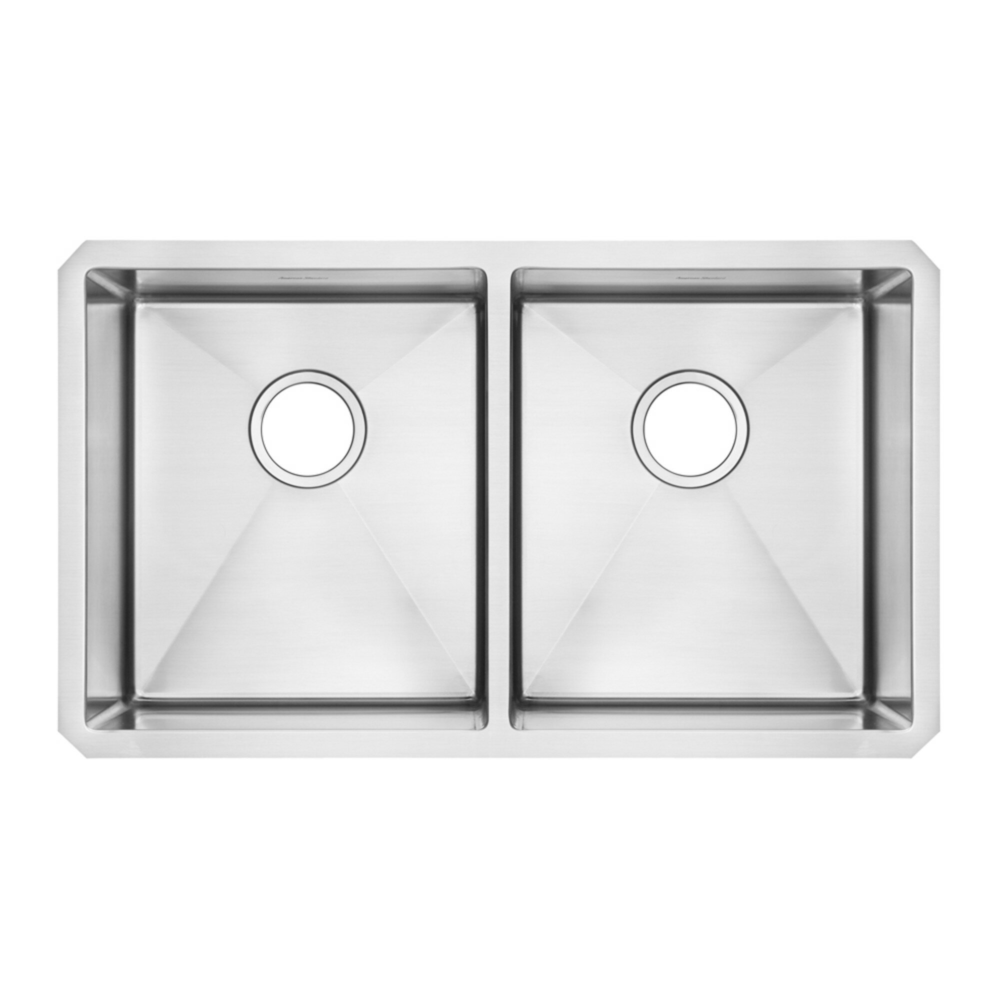 American Standard Pekoe 29 L X 18 W Double Basin Undermount Kitchen Sink With Grid And Drain Wayfair