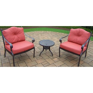 Berkley 3 Piece Conversation Set with Cushions