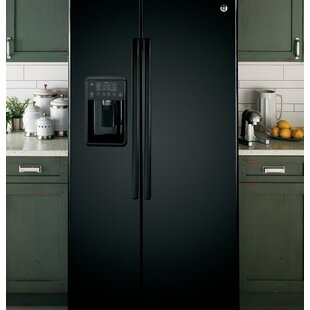 25.3 cu. ft. Energy Star® Side By Side Refrigerator by GE Appliances