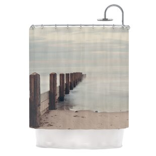 Brush Strokes by Laura Evans Single Shower Curtain