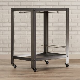 Edson Madre Bar Cart by 17 Stories