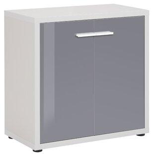 Review Akiko 2 Door Storage Cabinet