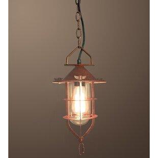 Warehouse of Tiffany Clarissa 1-Light Geometric Pendant