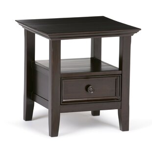 Mccoppin End Table with Storage