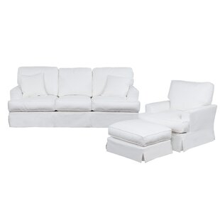 Compare Elenora 3 Piece Slipcovered Living Room Set by Highland Dunes Reviews (2019) & Buyer's Guide