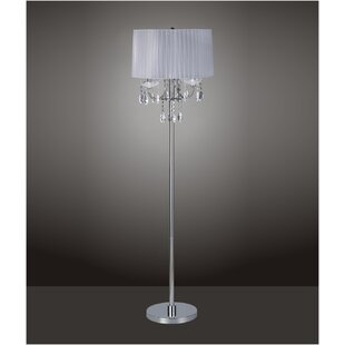 Find the perfect Chrome Crystal Inspired 62.5 Floor Lamp By Major-Q