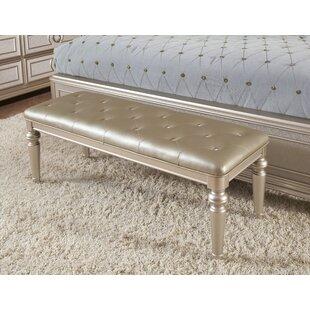 House of Hampton Banyan Upholstered Bench