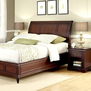 Three Posts Curran Panel 2 Piece Bedroom Set