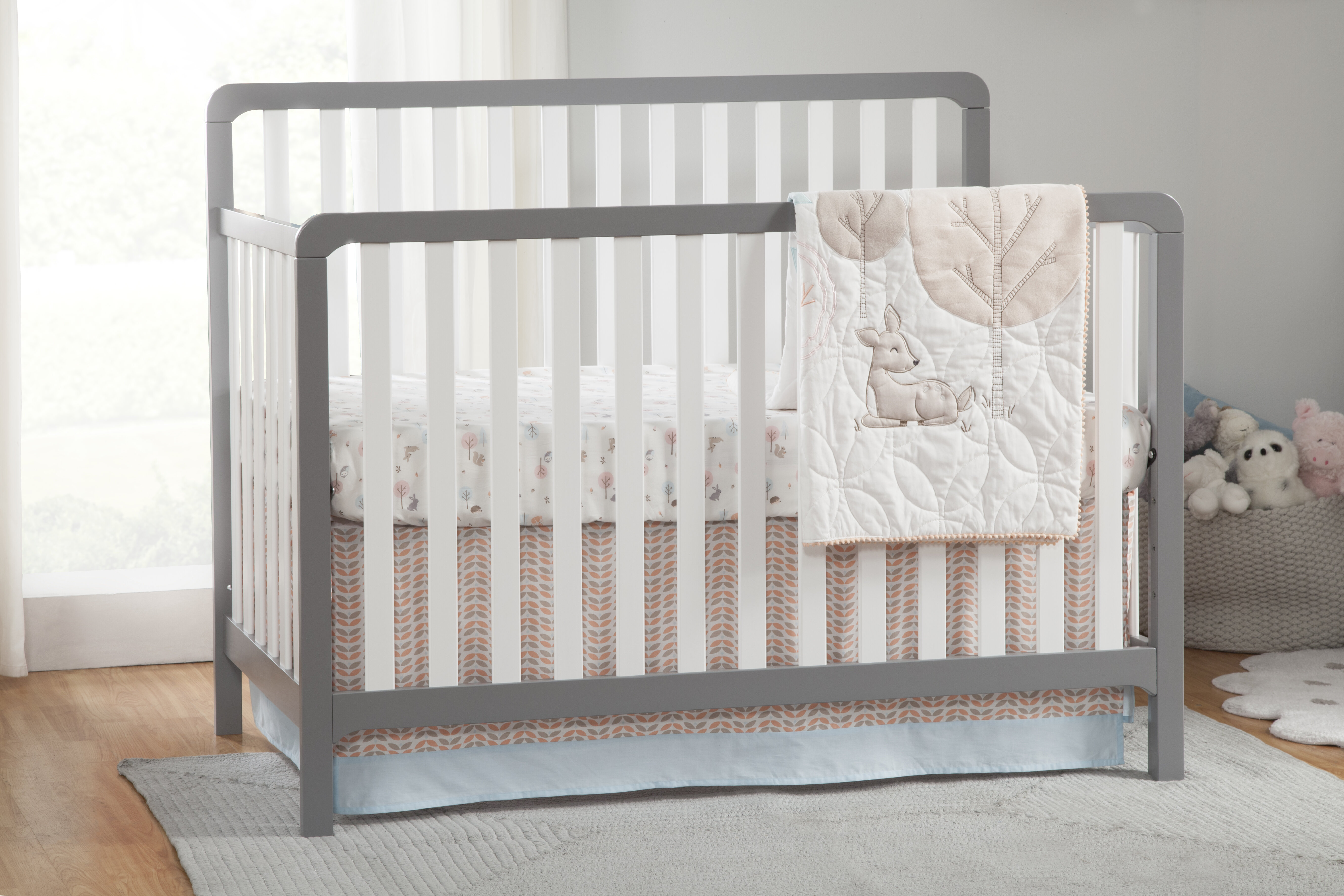 props royal products left children convertible cribs conversion delta grey cnc changer n crib