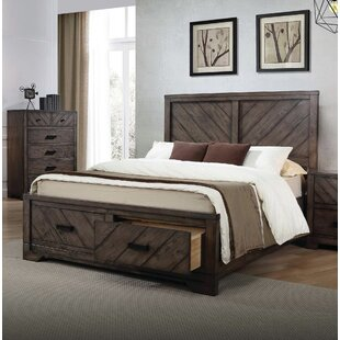 Gracie Oaks Parryville Storage Panel Bed