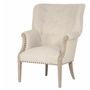 One Allium Way Angecourt Wing back Chair