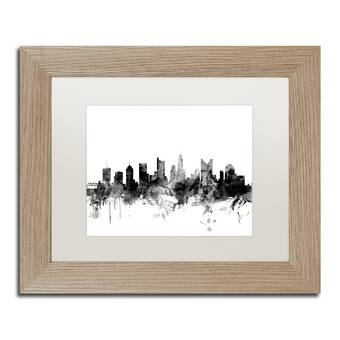 Global Gallery Map Of Houston County Minnesota 1874 By A T Andreas Framed Graphic Art On Canvas Wayfair