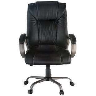 Genuine Leather Executive Chair by Harwick Furniture New Design