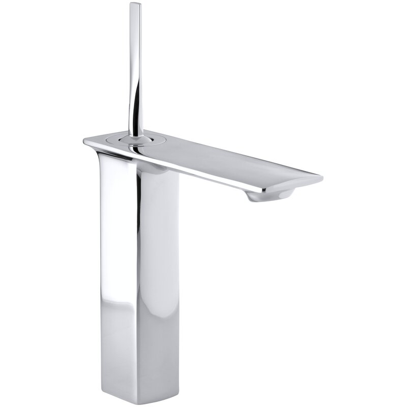Kohler Stance Tall Single Hole Bathroom Sink Faucet Reviews Wayfair