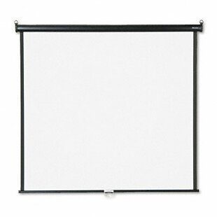 Compare prices Matte White Manual Projection Screen By Quartet®
