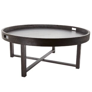 Gracie Oaks Nomi Coffee Table with Tray Top