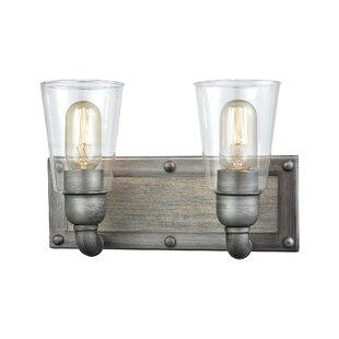 Affordable Aranda 2-Light Vanity Light By 17 Stories